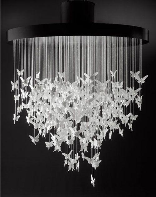 Niagara chandelier by Bodo Sperlein for Lladró.   Marvelous ...