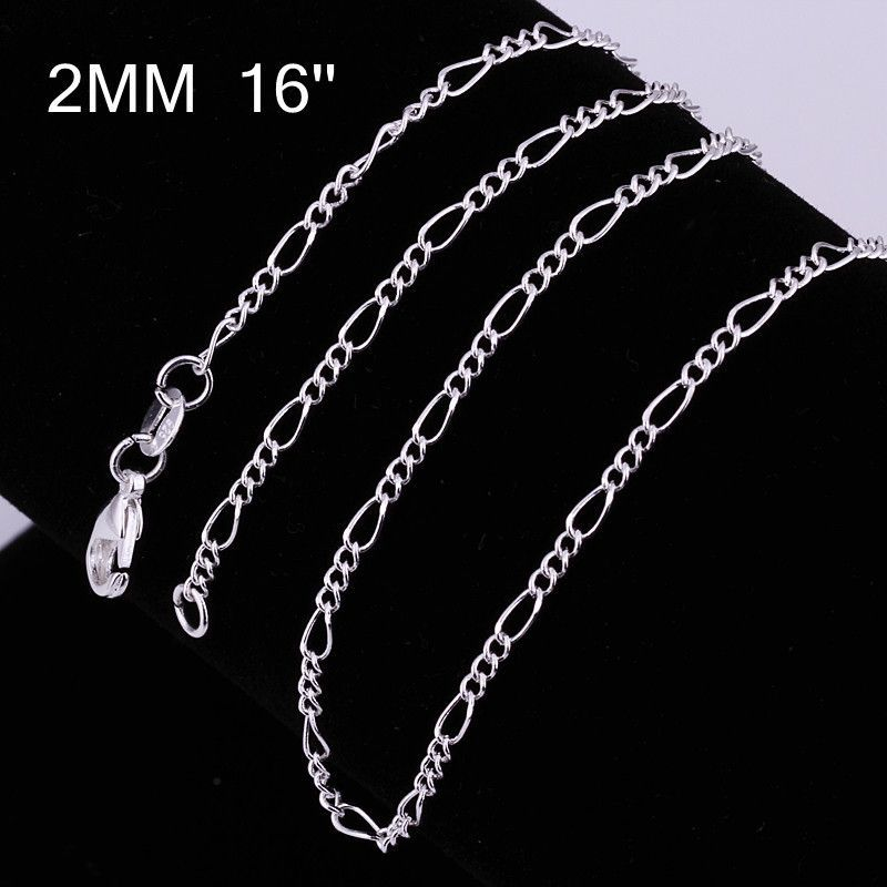 Beautiful Design 925 Silver Plated Chain-Available in Silver or Gold Color