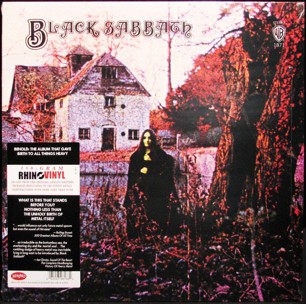 Black Sabbath 180g Lp Vinyl Record Rhino New Sealed Black Sabbath Black Sabbath Albums Music Articles