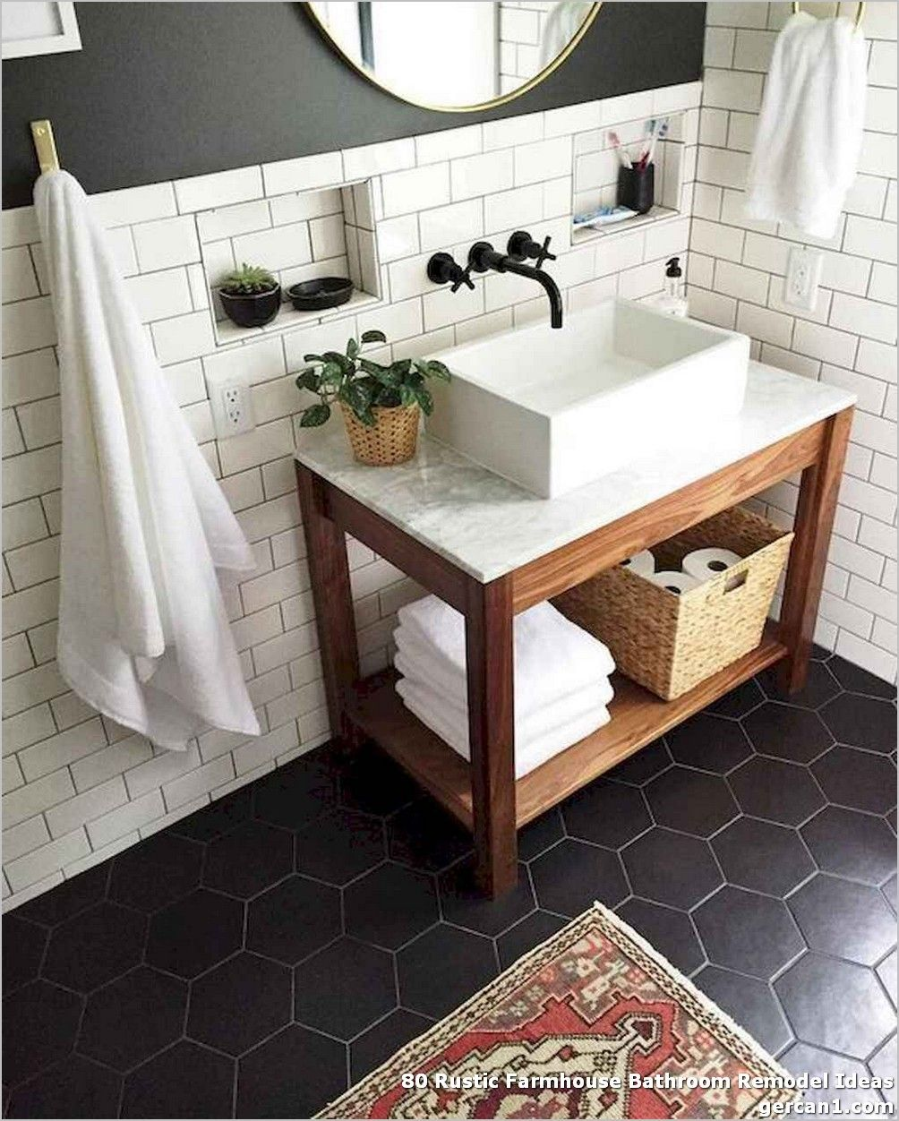 80 rustic farmhouse bathroom remodel ideas flip your on beautiful farmhouse bathroom shower decor ideas and remodel an extraordinary design id=53170
