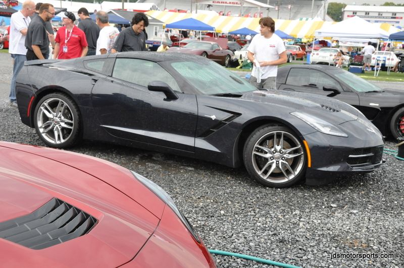 Official CYBER GRAY METALLIC Corvette Stingray C7 Photos
