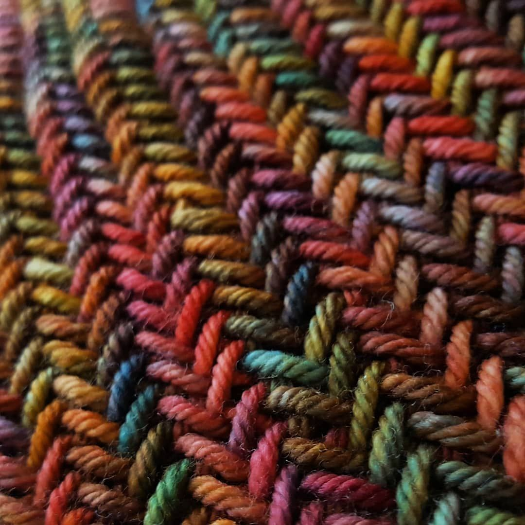 Big Herringbone Cowl by Purl Soho, knitted by ...