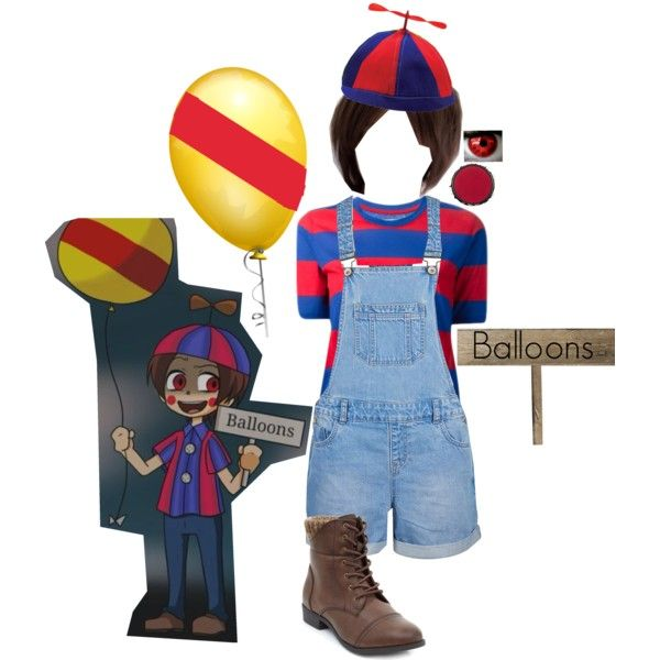 Balloon Boy Five Nights At Freddy S Cosplay Boy Costumes Fnaf Cosplay Balloons
