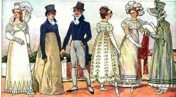 1815 1819 die frauen trug lange glockige r cke 19 jahrhundert pinterest. Black Bedroom Furniture Sets. Home Design Ideas