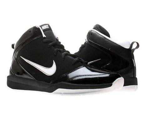 Nike Team Hustle D 5 (GS) Boys Basketball Shoes 454461-010 Nike.