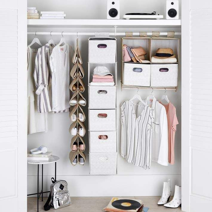 Essential Closet Storage Set In 2020 Closet Storage