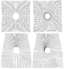 Image result for black hole grid