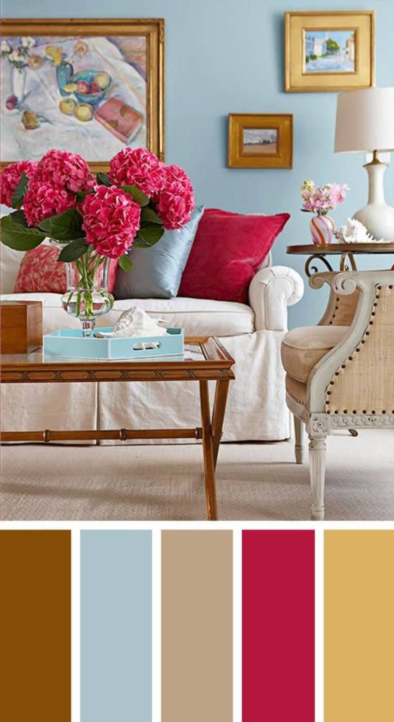 Living Room Colors Combination