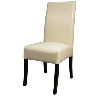 Vernon Split Leather Chair Beige