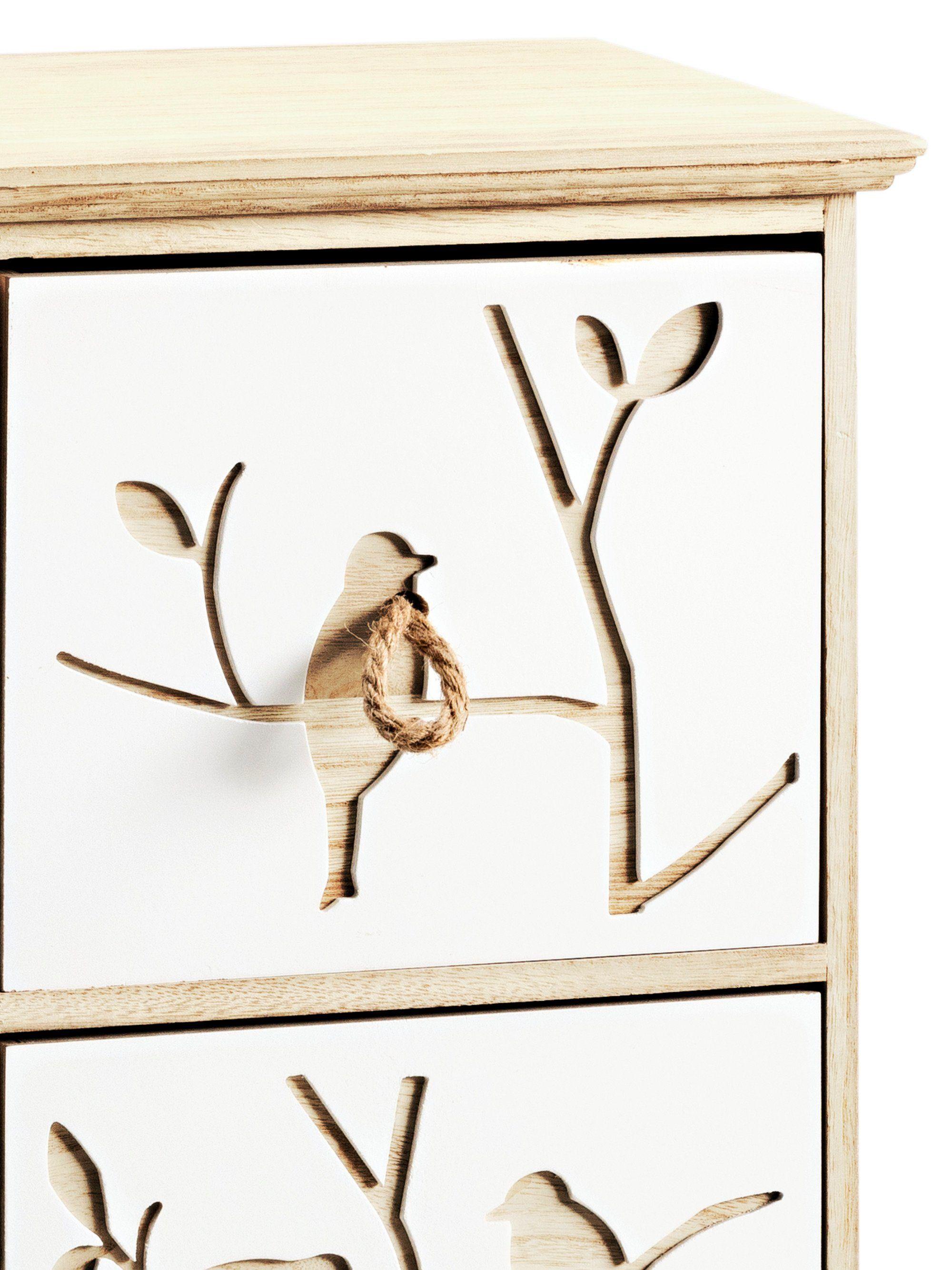 Badmöbel Schubladenschrank beige, Schubladenschrank, pflegeleichtes ...