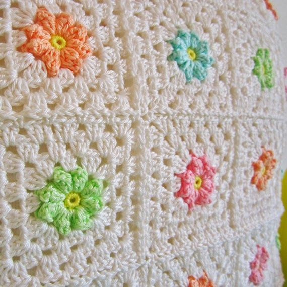 Color \'n Cream Crochet and Dream: Tutorial | Crochet - Squares ...