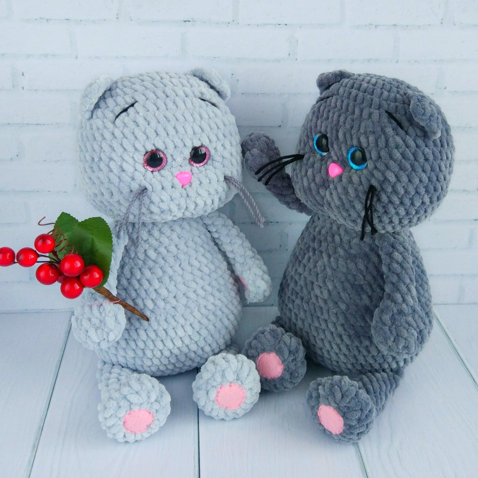 CROCHET CAT PATTERN, Amigurumi plush pattern cat, Crochet