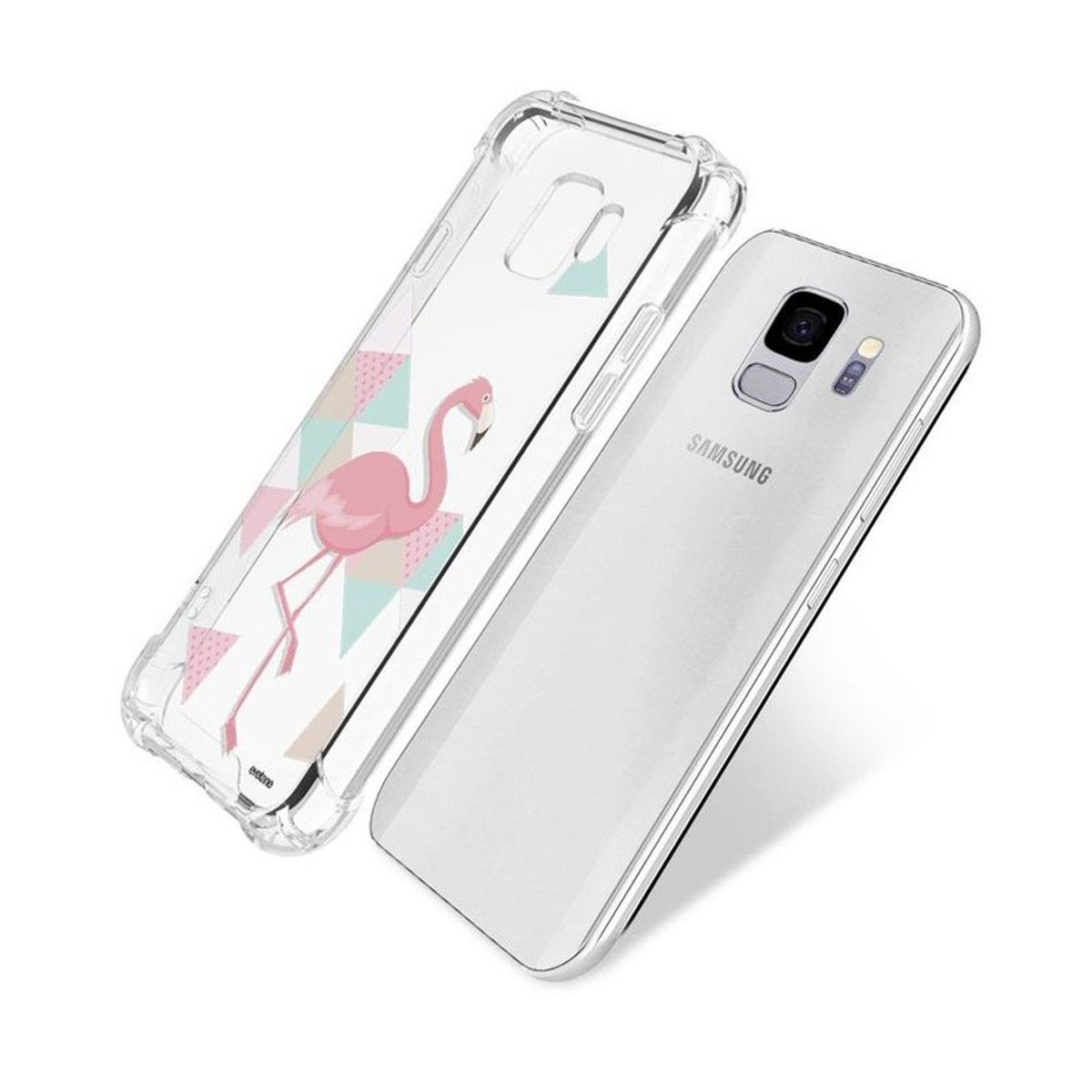 coque flamant rose galaxy s9