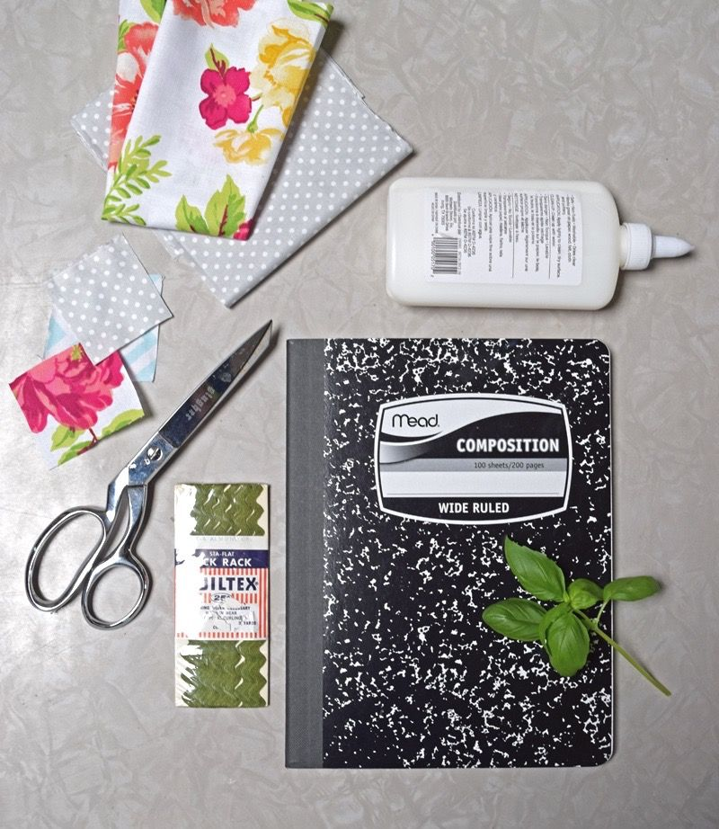 A Fabric Covered Garden Journal Diy For Spring Journal Covers