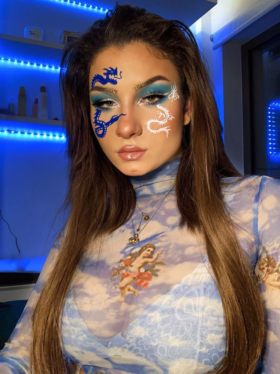 Follow On Instagram Mileena Nik For More In 2020 Bad Makeup Makeup Looks Dragon Makeup