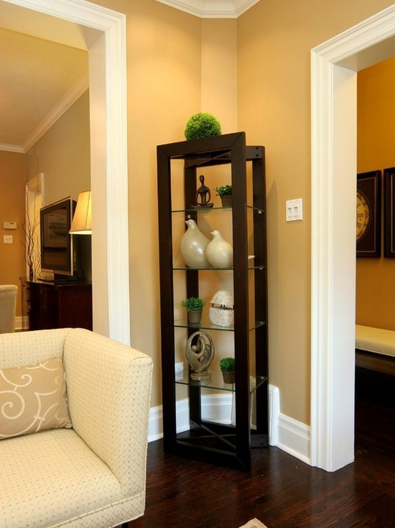 Corner Showcase Designs For Living Room: 30 Clever Ideas Small Corner Shelves For Living Room