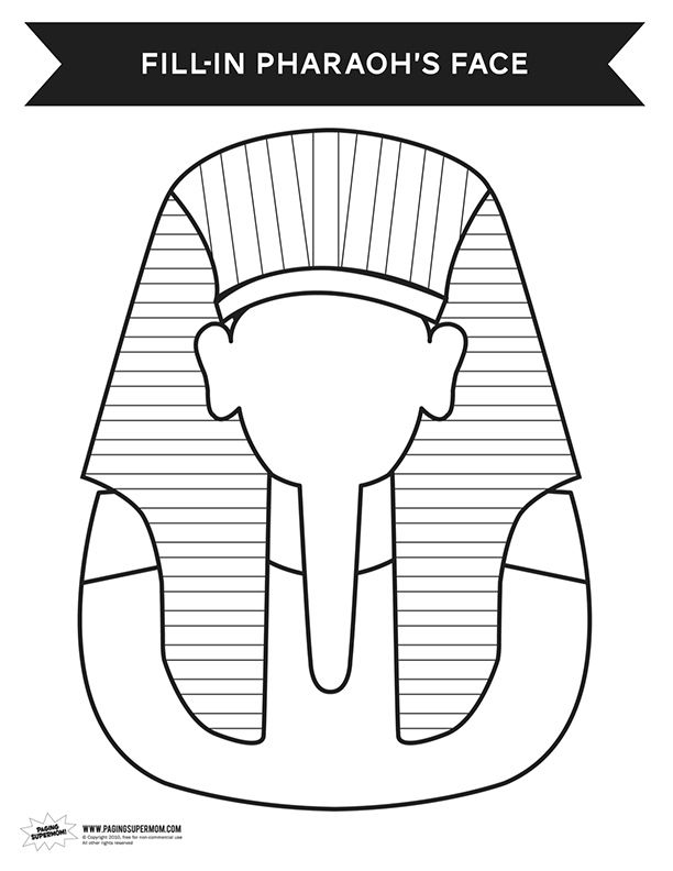 Activity Pharaoh Coloring Page Ancient Egypt Ancient Egypt