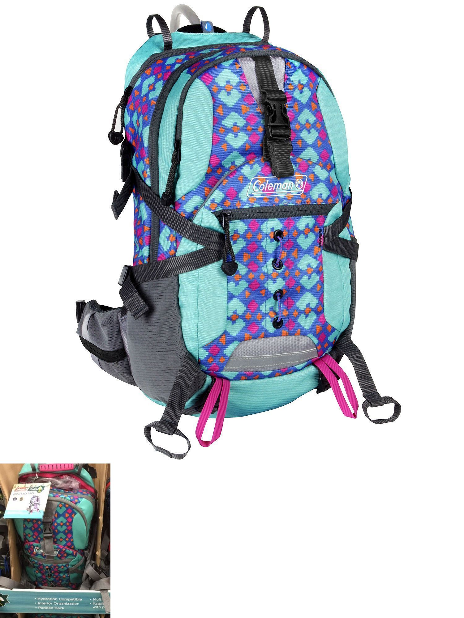 Hydration Packs Coleman Kids Hydration Turquoise Pink