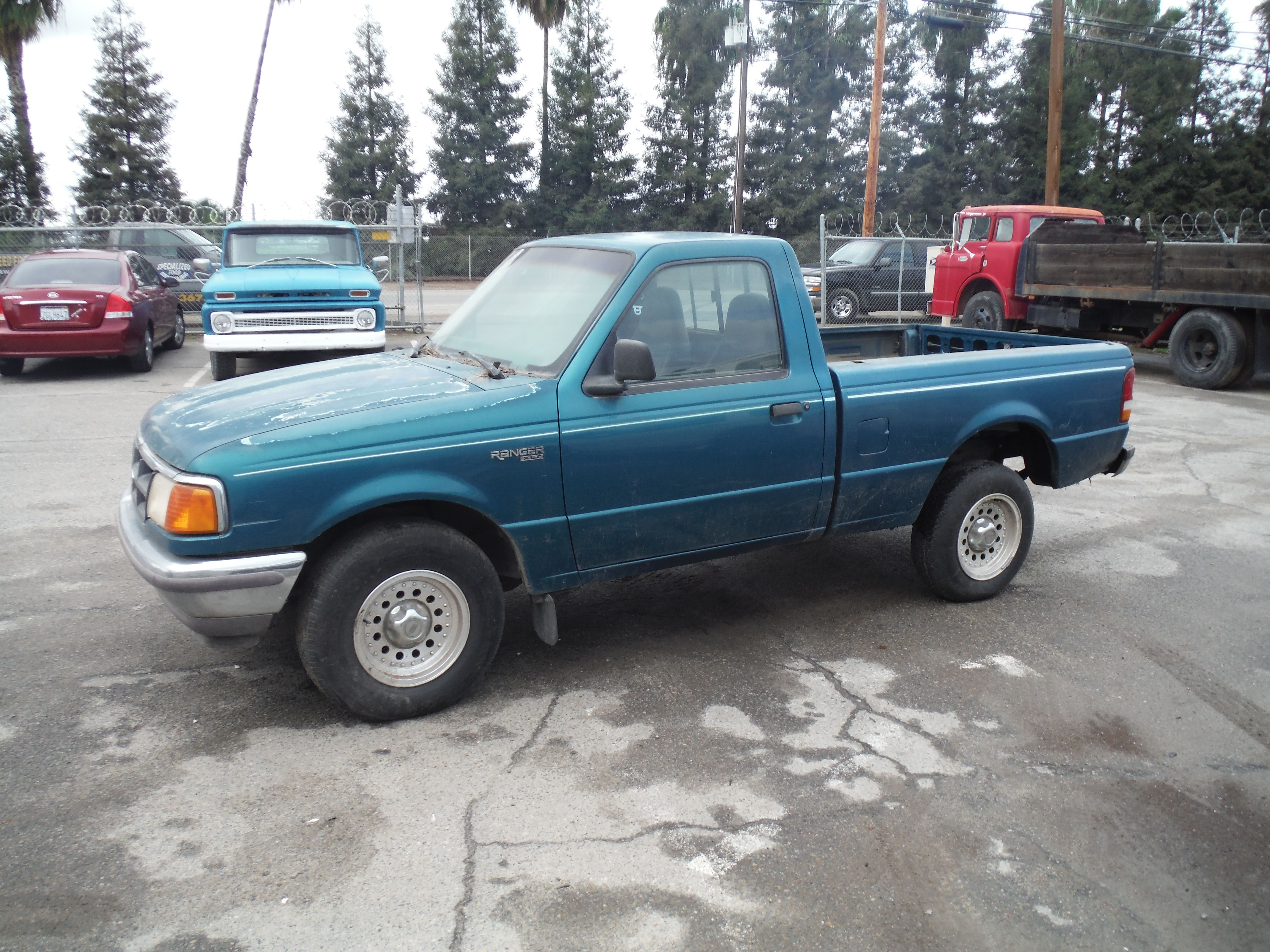1997 ford ranger xlt regular cab short bed 2wd 2 3l with 158k miles