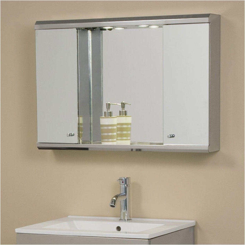 Unique Bathroom Medicine Cabinet With Light