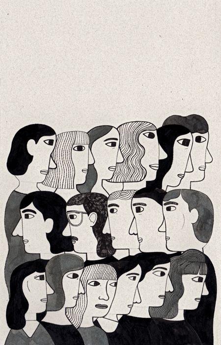 Sara Guindon, some inktober illustrations