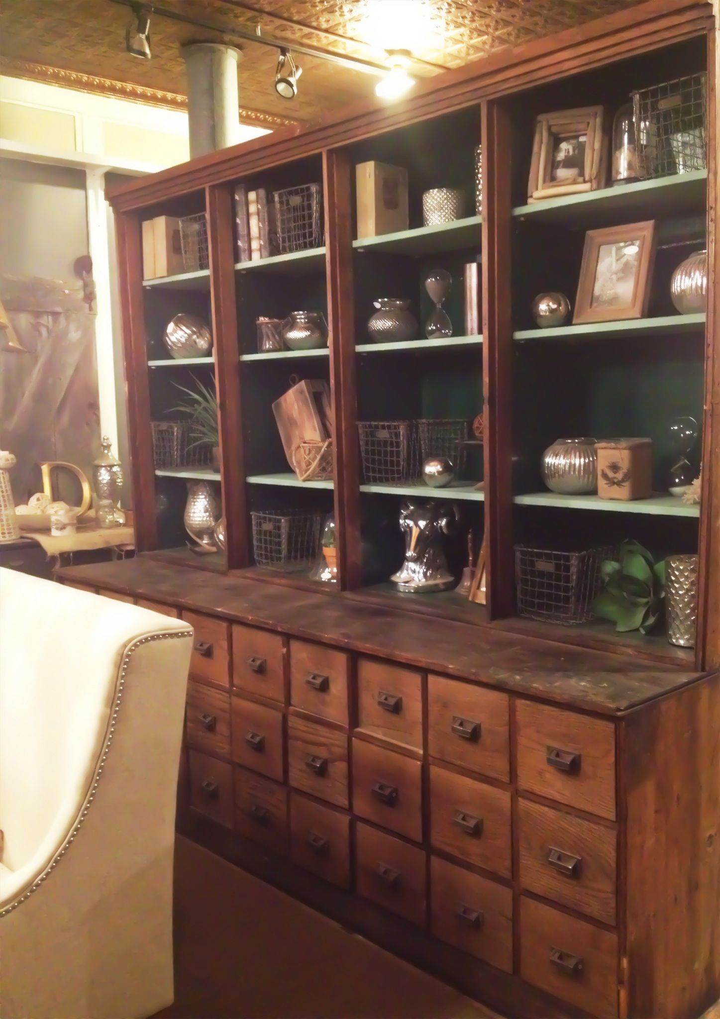 Antique Pharmacy Apothecary Cabinet Available Available As Is Or Refinished Antiquefurnitures In 2020 Kitchen Cabinets For Sale Cabinets For Sale Apothecary Cabinet