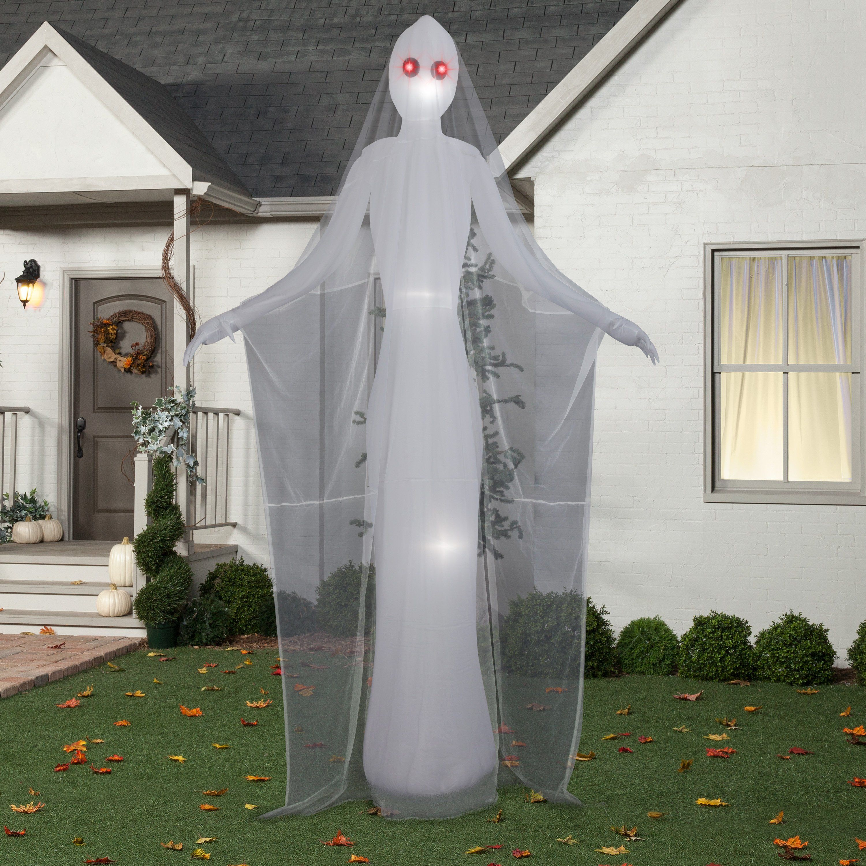 Halloween Airblown Inflatable 12 Ft Ghostly Female By