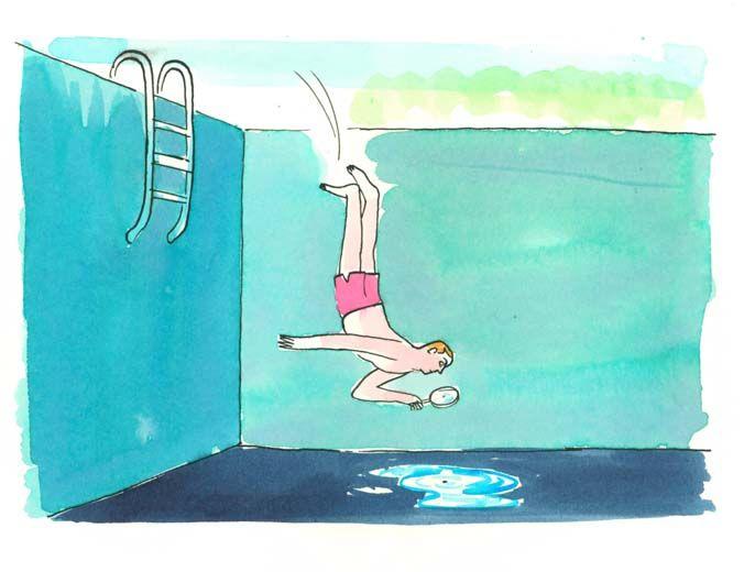 Spotting a Leak - Mike Holmes Magazine, Illustration by Graham Roumieu