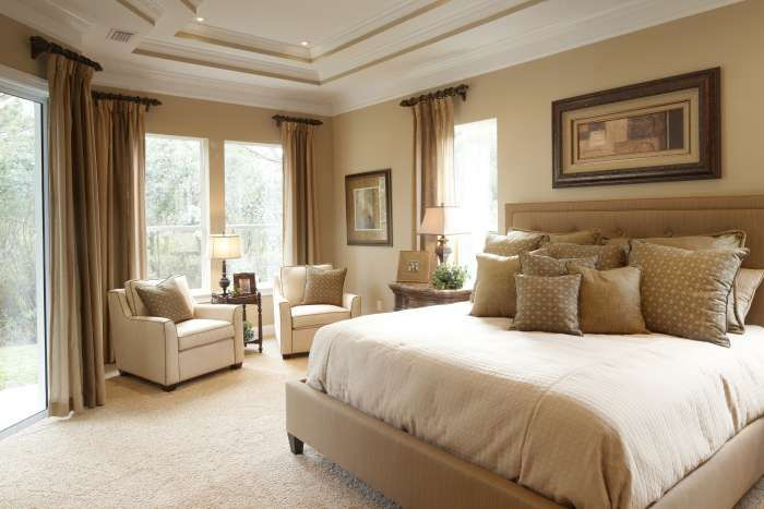 Things To Consider In Picking Up Seating Place Master Bedroom Amazing Trey Ceiling With Flush Mounted Fan Paired Also