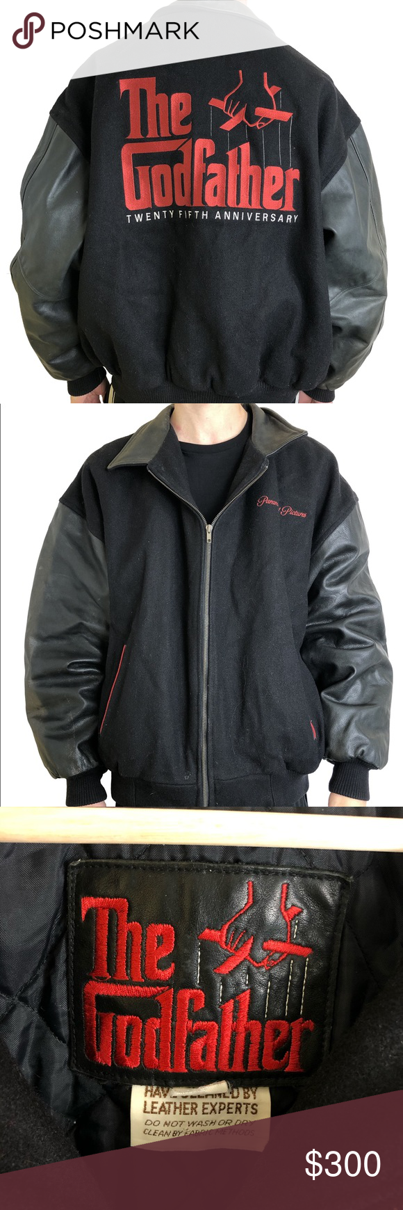 Godfather 25th Anniversary Letterman Jacket Coat