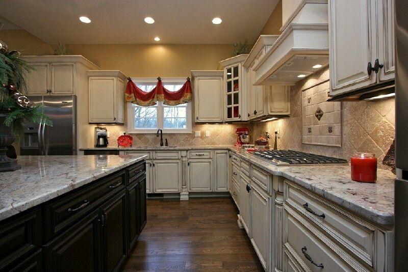 Pretty Quality Kitchen Cabinets White Cabinets Dark Island Cabinetry