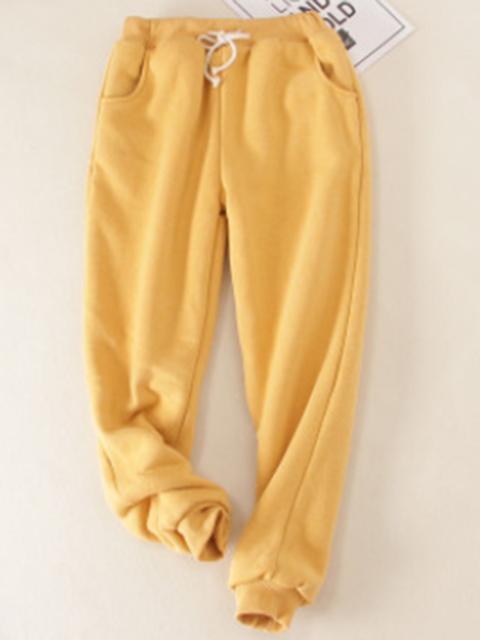 9d7e398b3a6fa Cotton Casual Sport Super Soft Lined Jogger Sweatpants with Pockets ...