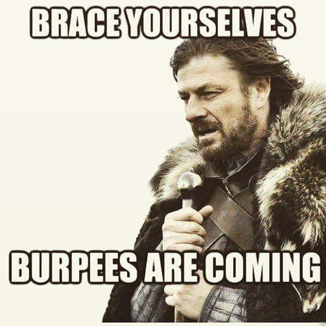 We Have Two Days Left Before Our Staff Hits The Deck Every Dollar You Donate Gives That Coach Or Staff Member A Burpe Funny Quotes Funny Memes Funny Pictures