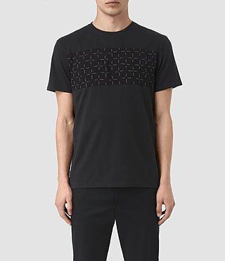 ALLSAINTS 하벤 크로스 크루 티셔츠. #allsaints #cloth #