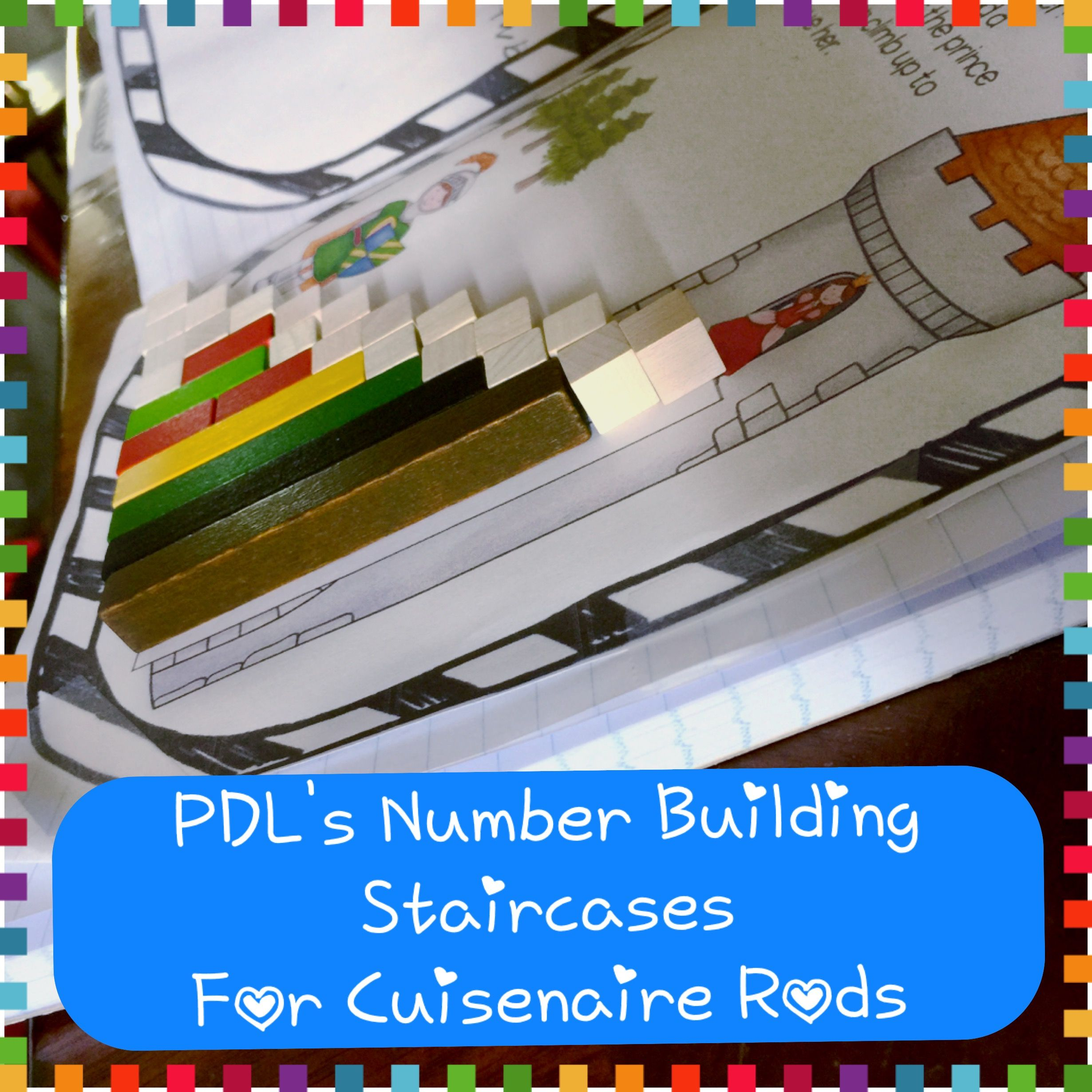 Pdl S Number Building Staircases For Cuisenaire Rods