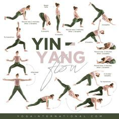 a short and sweet yininspired vinyasa sequence  yin yoga