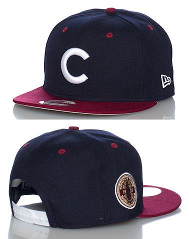 eb40eadbc48 NEW ERA WORLD SERIES EDITION Chicago Cubs MLB snapback cap Embroidered logo  patch on front Adjustabl... Adjustable fit. 100% wool. Navy 70177780.
