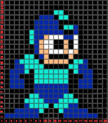 Creative Pixel Art Megaman Building Ideas Pixel Art Pixel Art Pattern Pixel Art Pokemon