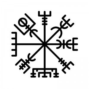 r sultat de recherche d 39 images pour le compas de vegvisir tatoo symbolic tattoos tattoos. Black Bedroom Furniture Sets. Home Design Ideas