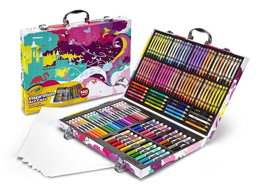 Crayola inspiration art casepink art set box crayons