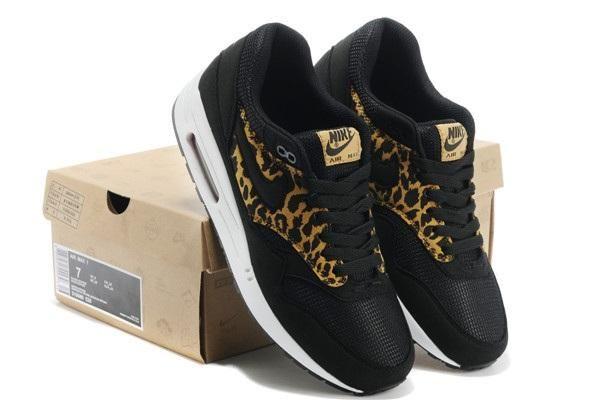 air max 1 black leopard mens