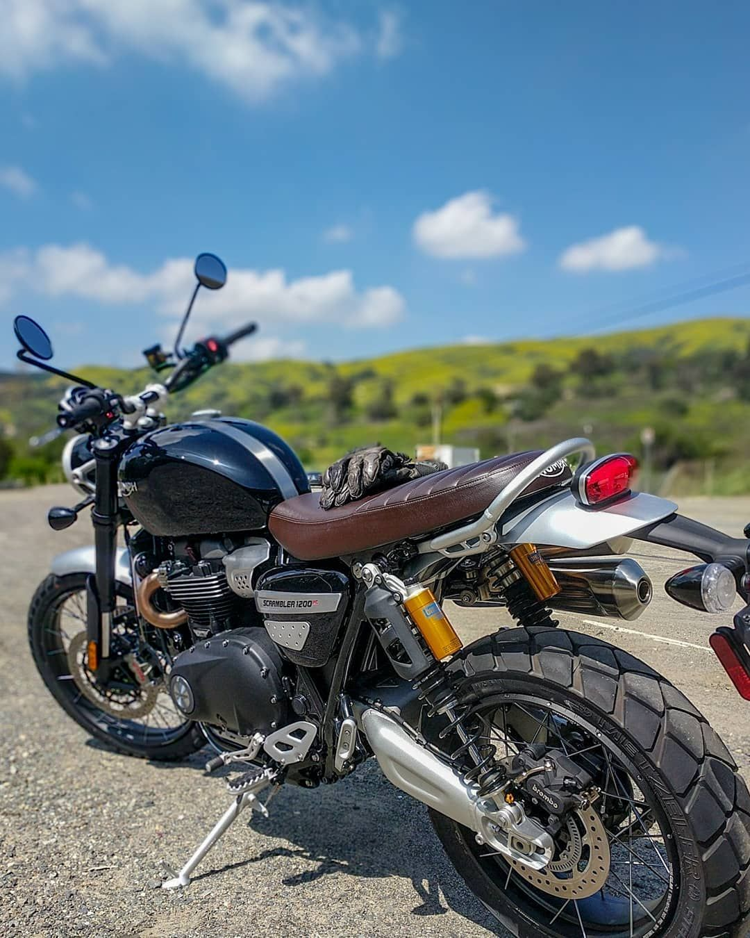 Tremendous This Is The Triumph Scrambler Xc The One Inch Lower Seat Cjindustries Chair Design For Home Cjindustriesco