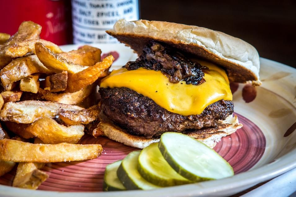 Beef Up With The Best Burgers In America Best Burger In America Good Burger Steakhouse Burger