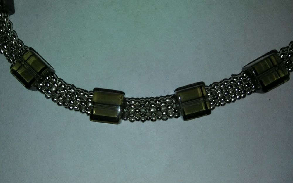 LADIES JEWELRY METAL BEADED NECKLACE (With images) Metal