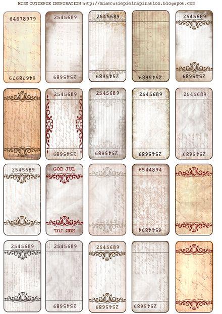 Etiquettes Vierges Vintage Etiquettes Contenus Gratuits A Imprimer Etiquettes Imprimables