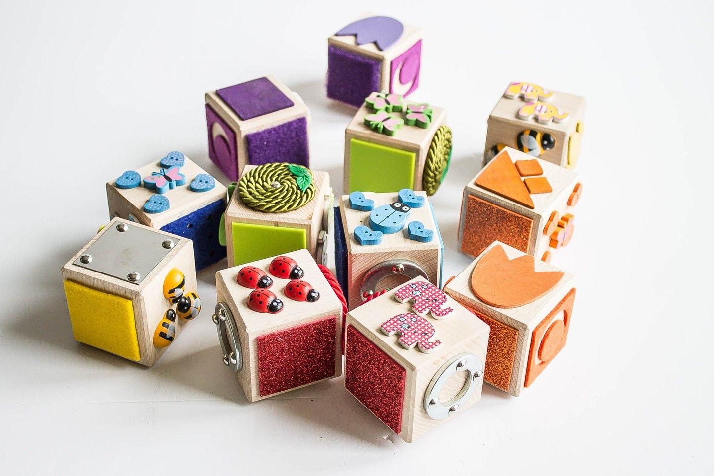 Klocki Sensoryczne Dotykowe Handmade 6sztuk 7158485986 Oficjalne Archiwum Allegro Baby Toys Usb Flash Drive Diy