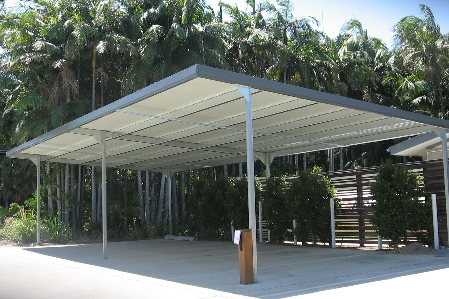 Flat climax multi housing character carports have been for Carport blueprints