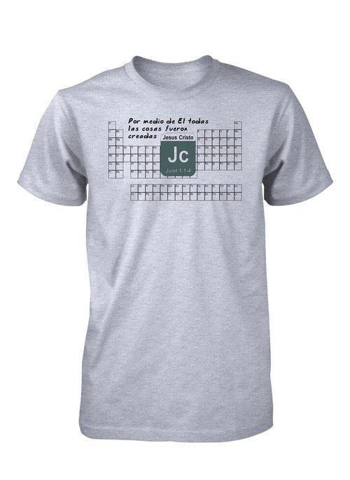 Tabla periodica elementos quimica ciencia creacion camiseta tabla periodica elementos quimica ciencia creacion camiseta cristiana urtaz Image collections