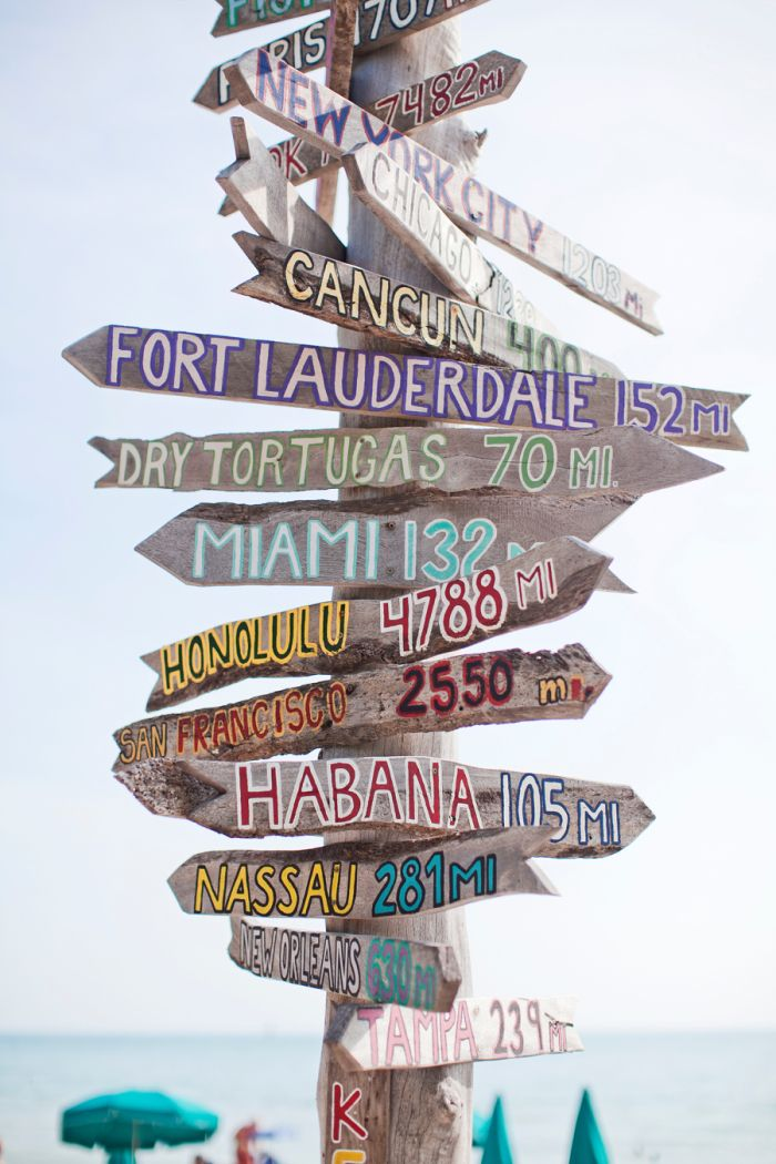 Zachary Beach Signs Key West | Go ✈ Travel Quotes | Beach signs ...