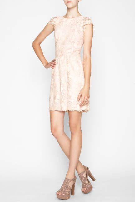 Light pink lace from BCBGeneration $158